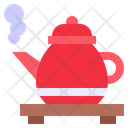 Tea Pot Hot Drink Coffee Pot Kettle Icon