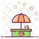 Tea Stall Catering Food Food Stall Icon