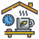 Tea Time Coffee Cup Icon