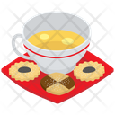 Tea Time Cookies Tea Time Bakery Food Icon