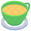 Tea With Saucer Icon