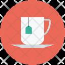 Teabag Tea Cup Icon