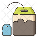 Teabag Hot Tea Food Icon