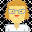 Teacher Madam Professor Icon