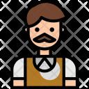 Teacher Profession Man Icon