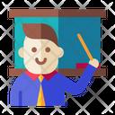 Teacher Professor Trainer Icon