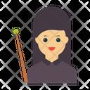 Teacher Female Character Icon