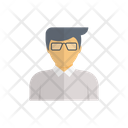 Teacher Professor Man Icon