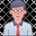 Teacher Male Man Icon