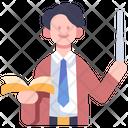 Teacher Book Education Icon