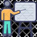 Teacher Education Presentation Icon