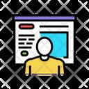 Human Presentation Color Icon