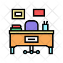 Teacher Working Place Icon
