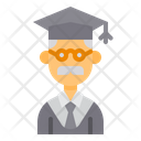 Teacher Professor Man Icon
