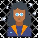 Teacher Female Professor Icon