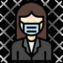 Teacher Suit Woman Icon
