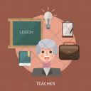 Teacher Teach Board Icon
