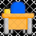 Teacher Desk Icon