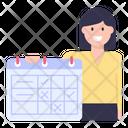 Teacher Timetable Icon