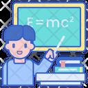 Teaching Science Physics Icon