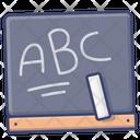 Education Blackboard Language Icon