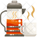 Teacup And Teapot Icon