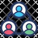 Team Community Company Structure Icon