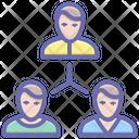 Team Company Employees Teamwork Icon