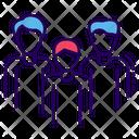 Team Crew Company Icon