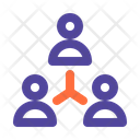 Brainstorming Team Users Icon
