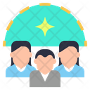 Team Group Cluster Icon
