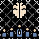 Team Brainstorm Brain Icon