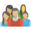 People Group Together Icon