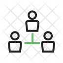 Team Connected Structure Icon