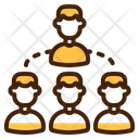 Team Person Group Icon
