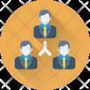 Team Hierarchy Company Icon
