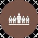 Team Human Activitiy Icon