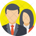 Team Colleagues Workmate Icon