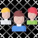 Team Portfolio People Icon