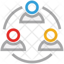 Team Teamwork Group Icon