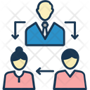Team Teamwork Users Icon