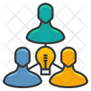 Team brainstorming Icon