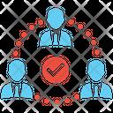 Team Building Team Management Team Icon