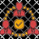 Team Building Team Management Business Team Icon