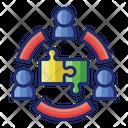 Team Building Team Group Icon