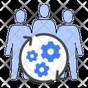 Teamwork Team Building Group Icon