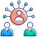 Team Leader Communication Team Discussion Icon