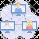 Business Development Collaboration Icon