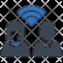 Business Team Communication Icon