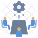 Brainstorming Discussion Executive Icon